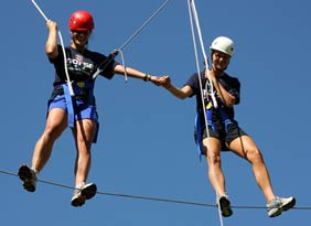 Activities - Low and High Ropes Course